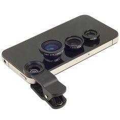 Fish Eye Lens 3 In 1 Mobile Phone Lenses Wide Angle / Macro Clip Camara Gift Iphone Samsung Htc Nokia Lumia 620 Etc. Iphone 6 Plus 6 5 Iphone 6 S Plus, Iphone 4s, Handy Iphone, Coque Iphone, Apple Iphone, Sony Mobile Phones, Mobile Phone Price, Mobile Phone Repair, Mobile Lens
