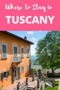 Where to Stay in Tuscany: This gorgeous farm house situated at strategic location to towns of Siena, Pienza and Florence is the perfect place to unwind and relax. This hill top luxury farm also has swimming pools and recreation areas. It truly is a relaxing place away from the hustle and bustle of bigger towns . #Italy #TravelTips #Tuscany