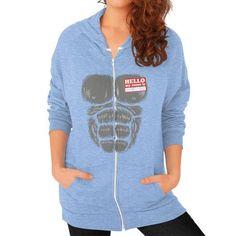 Harambe Halloween Zip Hoodie (on woman)