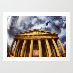 PARIS Madeleine church Art Print by WAMTEES - $17.68