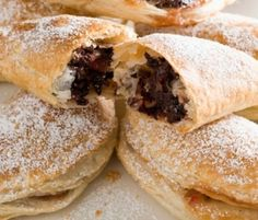 Indulgent Easter Rocky Road Turnovers: This grown up version of rocky road, encased in puff pastry, will take you back to your childhood with one bite!. http://www.bakers-corner.com.au/recipes/pies-and-tarts/indulgent-easter-rocky-road-turnovers/