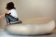 Livingstones Floor Cushion by Stephanie Marin for Smarin | Poliform Australia