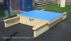Lockable Sandpit with HDPE Lids