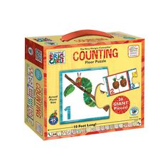 The Very Hungry Caterpillar 26-pc. Counting Floor Puzzle by BePuzzled, Multicolor