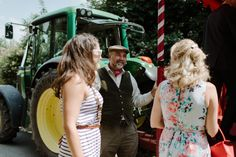 A Joanna Hehir Gown for a Homespun, Fun Filled and Rustic 'Wedding in a Field' | Love My Dress® UK Wedding Blog
