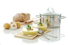 Receta de Crema de ajo con puerros y patatas