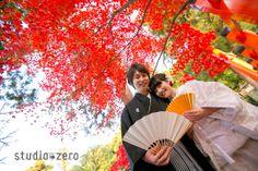紅葉の京都ロケーション - 和装前撮り 13