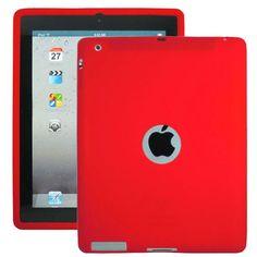 Soft Shell Logo (Rød) Deksel for iPad 3