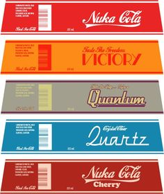 My Homemade Nuka Cola Collection! - Imgur
