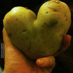 Patata de San Valentín
