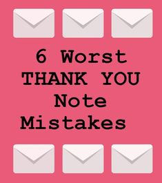 "So you landed the interview and now it's over, time for a ""thank you"" email but WAIT. Make sure you don't make these mistakes! #"