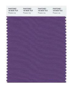 Pantone 18-2140 TCX Smart Color Swatch Card, Cabaret - Amazon.com/ Picasso Lilly