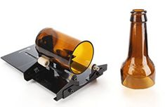 Glass Bottle Cutter, Genround Bottle Cutter Machine Wine Bottle Glass Cutter Cutting Tool - Make neat things from your husbands beer and wine bottles Kinkajou Bottle Cutter, Glass Cutters, Cutter Machine, Christmas Wine Bottles, Bottle Cutting, To Go, Construction Tools, Wine And Beer, Arts And Crafts Supplies
