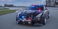 New Cop Version of Nissan GT-R Nicknamed Copzilla - https://carsintrend.com/nissan-gt-r-police/