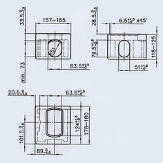 Iso Shipping Container Corner Casting Dimensions Iso