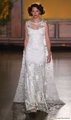 Claire Pettibone Fall 2016 Wedding Dresses — The Gilded Age Couture Bridal Runway Show | Wedding Inspirasi