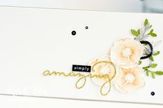 The Stamping Blok   Global Design Project   #GP128   Stampin' Up! Amazing You   Rochelle Blok