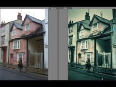 Use Lightroom to create a Faux HDR split tone effect with just the right dash of color