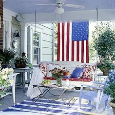 front porch ideas 4th of july - Google Search