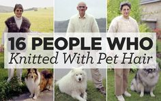 16 People Who Knitted With Pet Hair | Top Crochet Pattern Blog