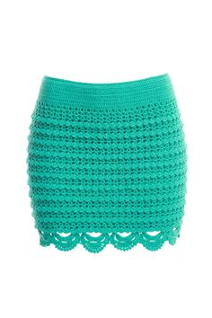 crochet skirt with some charts