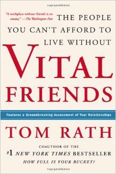 Vital Friends: The People You Can't Afford to Live Without: Tom Rath: 9781595620071: Amazon.com: Books