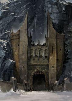The Omega [Troll Bridge concept art by Svetoslav Petrov.]
