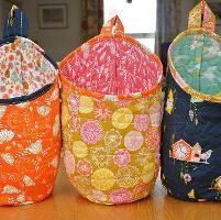 Quilting : Storage Pods by Marianne Cant Storage Pods, Fabric Storage Boxes, Homemade Bags, Bazaar Ideas, Marianne, Cloth Pads, Needle And Thread, Baby Quilts, Sewing Projects