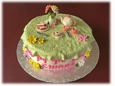 Tea-Time Birthday Cake