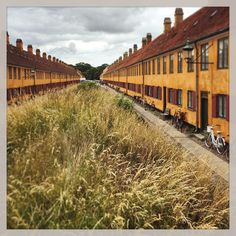 The Nyboder Houses, Copenhagen, commissioned by King Christian IV to house Denmark's seafaring men and their families.