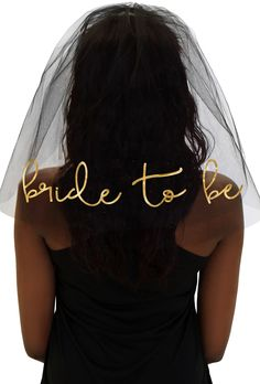 This stunning Bachelorette Veil will have everyone jealous of the Bride to be!