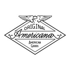 Instagram media by joshuaminnich - One of my latest projects; branding for Original Americana. A few small changes and it's done!