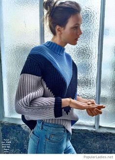 amazing-sweater-design-and-jeans