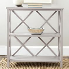 Grey Bookcases - Foter