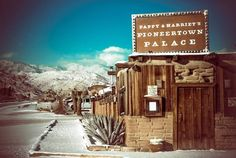 Pappy & Harriet's - Pioneertown, California Joshua tree  Live music, good food