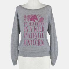 Wild Majestic Unicorn | HUMAN | T-Shirts, Tanks, Sweatshirts and Hoodies