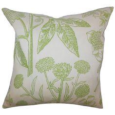 Neola Floral Throw Pillow