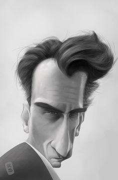 Freddie Quell by Ruslan Suleimanov, via Behance