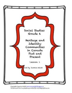 Lesson 1 and 2 of Mini-Unit ENGLISH (included in 8$ unit)