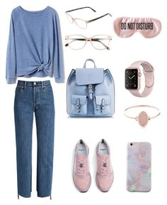 """""""Airport Style"""" by nino-machabeli on Polyvore featuring Vetements, Gap, MANGO, Coccinelle, Tom Ford, BaubleBar and Michael Kors"""