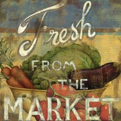 From the Market IV Posters by Daphne Brissonnet at AllPosters.com