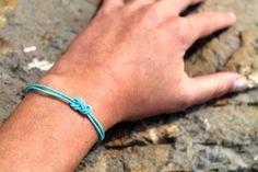 diy climbing knot bracelet