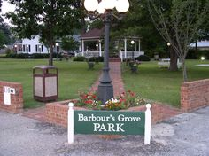 A beautiful view of Barbour's Grove Park in Four Oaks, NC.