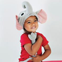 Oskar and Ellen Elephant Animal Hat and Tail Dress Up! For learning, imagination and role play! Oskar and Ellen provide an innovative and fun range of soft fabric toys aimed at encouraging your child's imagination through role play! Childrens Fancy Dress, Childrens Gifts, Childrens Party, Kids Gifts, Elephant Hat, Elephant Dress, Costume Hats, Dress Up Costumes, Elephant Costumes