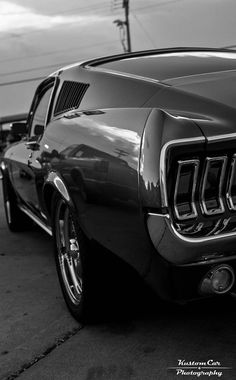 """h-o-t-cars: """" Ford Mustang by Kory McNail """" #mustangclassiccars"""