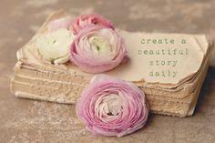 create a beautiful story daily