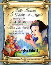 Resultado De Imagen Para Tarjeta Invitacion Cumpleaños