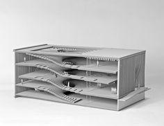 Architecture Portfolio of Khoa Vu Berkeley Architecture, Folding Architecture, Museum Architecture, Architecture Portfolio, Architecture Details, Interior Architecture, Architecture Models, Architecture Student, Interior Design