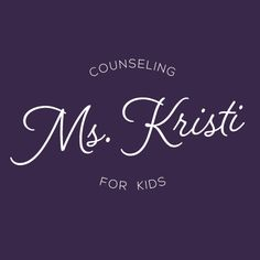 Logo for children's counselor by Rocketship Graphic Design.