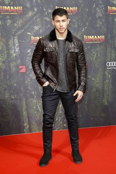 Nick Jonas auf der Deutschlandpremiere von JUMANJI: WILLKOMMEN IM DSCHUNGEL.  © 2017 Sony Pictures Entertainment Deutschland GmbH / Isa Foltin (Getty Images)